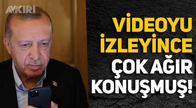 Erdoğan, 'Yalan Üretim Merkezi' videosunu izleyince ağır konuşmuş