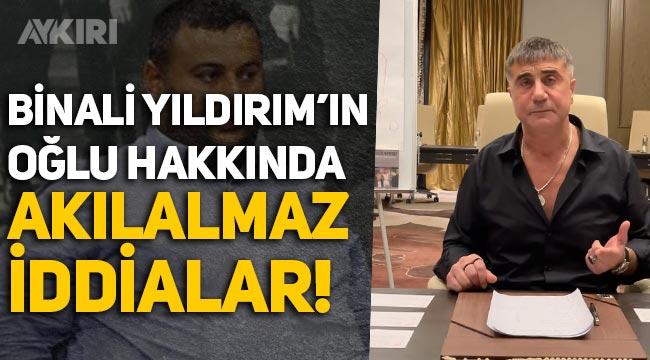 Erkam Yıldırım kimdir? Sedat Peker'den Binali Yıldırım'ın oğlu Erkam yıldırım hakkında şoke eden iddialar