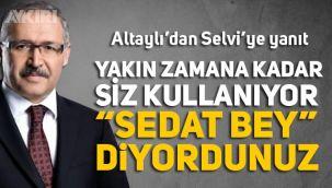 Fatih Altaylı'dan Abdülkadir Selvi'ye Sedat Peker yanıtı: