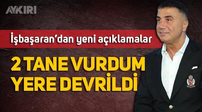 """Feyzi İşbaşaran'dan Sedat Peker'e bir yanıt daha: """"2 tane vurdum yere yıkıldı"""""""