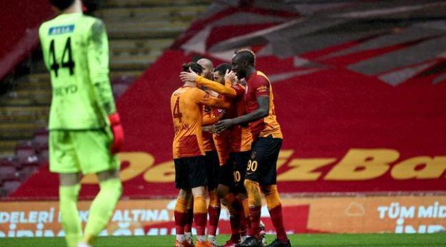 Galatasaray Başkent'te Gençlerbirliği'ni 2-0 mağlup etti! Derbi öncesi sıkı takibini sürdürdü