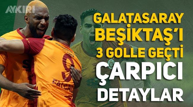 Galatasaray, Lider Beşiktaş'ı devirdi