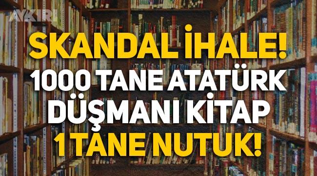 Gaziantep Belediyesi'nden skandal kitap ihalesi: Atatürk düşmanı yüzlerce kitap, 1 tane Nutuk!