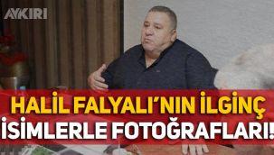 Halil Falyalı'nın o isimlerle fotoğrafları çıktı: Oktay Kaynarca, Yavuz Bingöl, Haluk Kırcı...