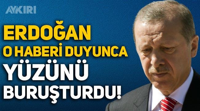 Hürriyet yazarı Selvi: Erdoğan o haberi duyunca yüzünü buruşturdu