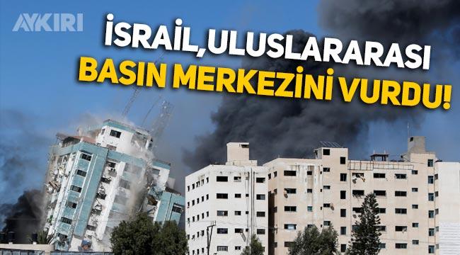 İsrail, uluslararası basın merkezini vurdu!