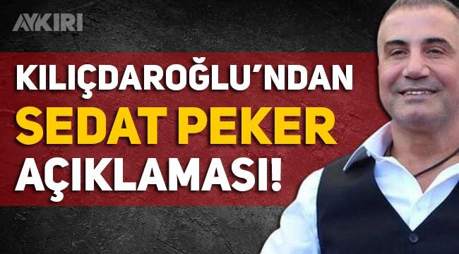 """Kemal Kılıçdaroğlu'ndan Sedat Peker'e yanıt: """"Bizim öyle bir dünyada işimiz yok"""""""