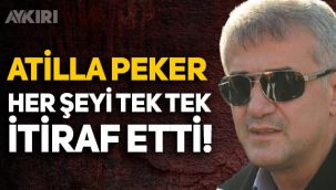 Kutlu Adalı cinayetinde ismi geçen Atilla Peker, her şeyi tek tek itiraf etti!