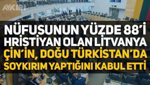 Litvanya, Çin'in Doğu Türkistan'da soykırım yaptığını kabul etti