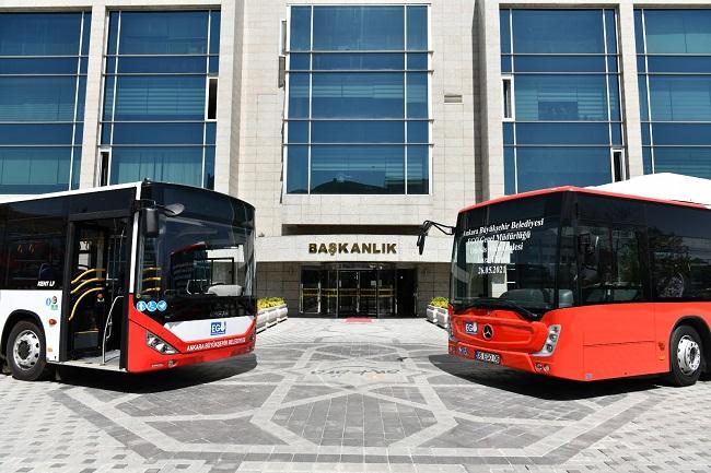 Mansur Yavaş imzayı attı: Ankara 301 yeni otobüsüne kavuşuyor!