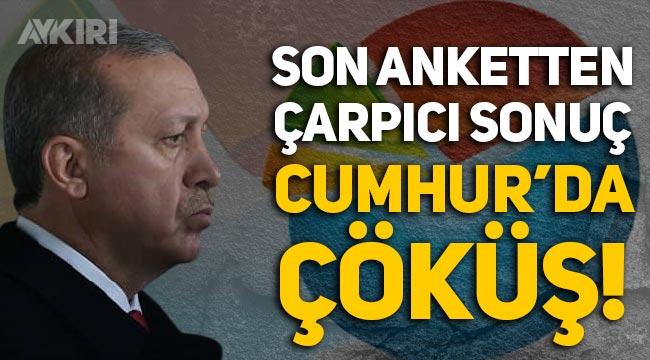 Metropoll anketi: AK Parti ve MHP bloğunda çöküş, kararsız ve protesto oyları belirleyici!