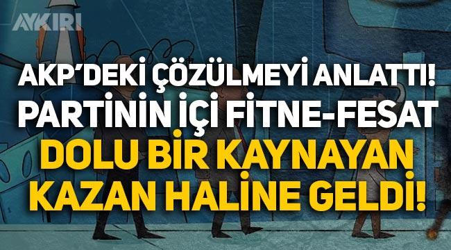 Nagehan Alçı, AK Parti'deki çözülmeyi anlattı: Partinin içi fitne-fesat dolu bir kaynayan kazan haline geldi
