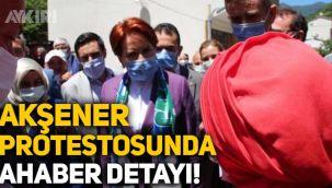 Rize İkizdere'deki Meral Akşener protestosunda 'A Haber' detayı!