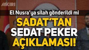 SADAT'tan Sedat Peker'in