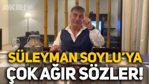 Sedat Peker'den yeni video: Süleyman Soylu'ya çok ağır sözler!