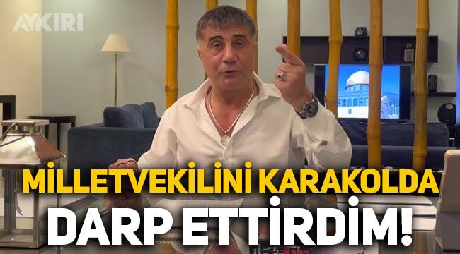 """Sedat Peker: """"Eski AK Partili vekil Feyzi İşbaşaran'ı darp ettirdim"""""""