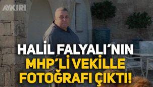 Sedat Peker'in bahsettiği Halil Falyalı'nın MHP milletvekili Saffet Sancaklı ile fotoğrafı çıktı!