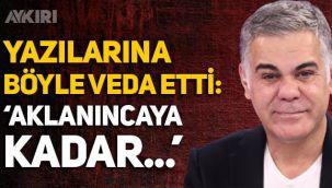 Sedat Peker'in Hadi Özışık ifşası sonrası Süleyman Özışık gazetedeki görevinden bu sözlerle ayrıldı!
