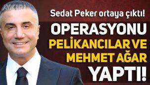 Sedat Peker ortaya çıktı: