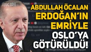 Süleyman Özışık: Abdullah Öcalan, Erdoğan'ın emriyle Oslo'ya götürüldü!