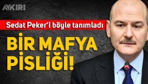 Süleyman Soylu, Cumhuriyet gazetesini hedef alıp Sedat Peker'i