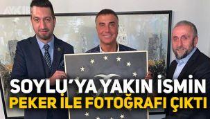 Süleyman Soylu'ya yakınlığıyla bilinen Murat Şahin'in, Sedat Peker ile fotoğrafları çıktı