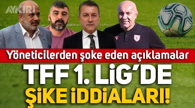 TFF 1. Lig'de şike iddiaları: Kulüp başkanlarından çarpıcı açıklamalar!