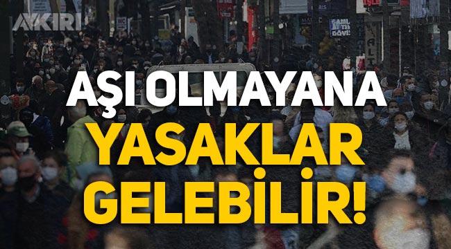 Türkiye gazetesinden çarpıcı iddia: Aşı olmayanlara kısıtlama gelebilir