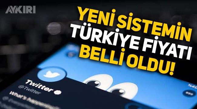 Twitter'dan yeni özellik: Türkiye fiyatı belli oldu!