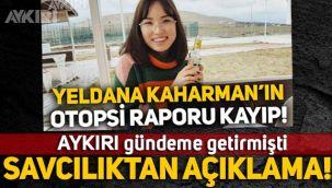 Yeldana Kaharman'ın ölümü hakkında Başsavcılıktan açıklama!