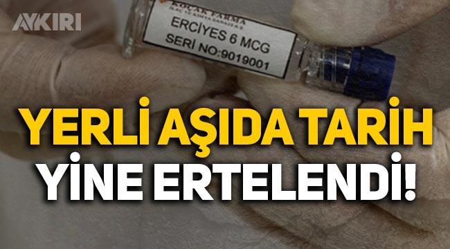 """Yerli aşıda tarih yine ertelendi: Erdoğan """"Eylül-Ekim"""", TÜBİTAK Başkanı """"Yıl sonu"""" dedi"""