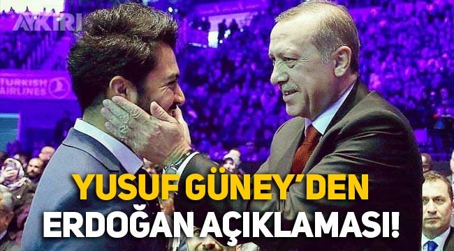 Yusuf Güney'den Erdoğan açıklaması: Desteklediğim için müzik piyasasından çoğu kapı açılmadı