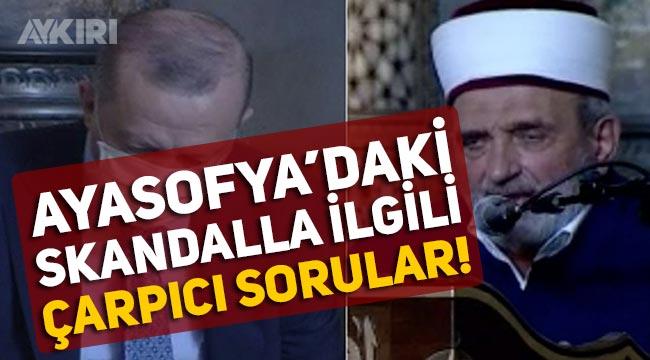 """Ayasofya'da Atatürk'e hakaret edilmesi skandalı Meclis'e taşındı: """"Neden soruşturma başlatılmıyor"""""""