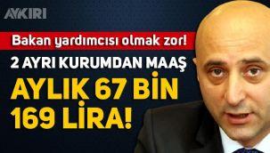 Bakan Yardımcısı Şakir Ercan Gül'ün 67 bin 169 lira maaş aldığı ortaya çıktı