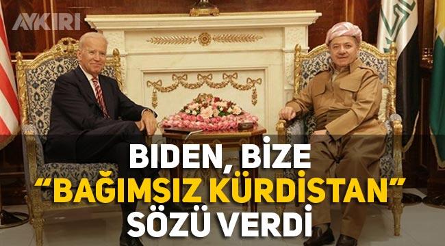 """Barzani: """"Biden bize Bağımsız Kürdistan sözü verdi"""""""