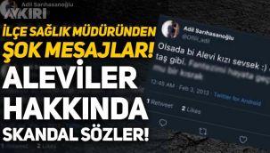Beyoğlu İlçe Sağlık Müdüründen şok mesajlar! Aleviler hakkında skandal sözler