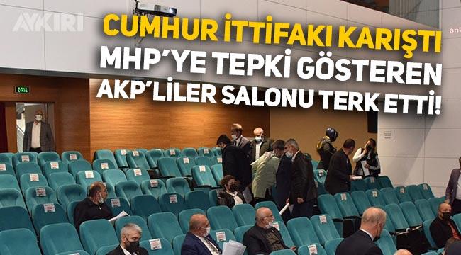 Bilecik Bozüyük'te MHP ve AKP arasında Atatürk gerginliği