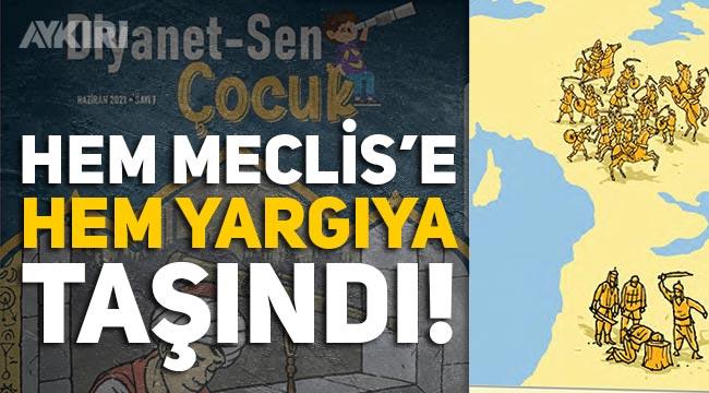 CHP, Diyanet-Sen'in Çocuk dergisini hem Meclis'e hem yargıya taşıyor
