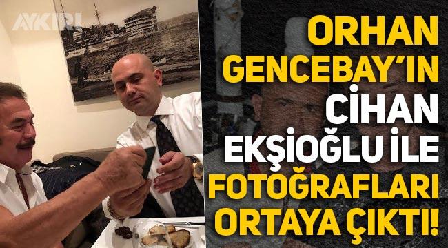 Cihan Ekşioğlu ile Orhan Gencebay'ın samimi fotoğrafları çıktı!