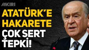 Devlet Bahçeli'den Ayasofya'da Atatürk'e hakarete sert tepki!