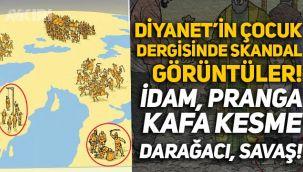 Diyanet-Sen'in çocuk dergisinde skandal görüntüler: