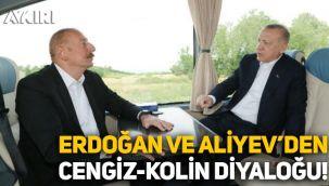 Erdoğan ile Aliyev arasında Kolin - Cengiz diyaloğu: