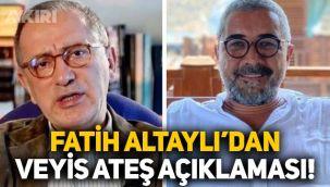 Fatih Altaylı'dan Sedat Peker'in ismini verdiği Veyis Ateş hakkında açıklama