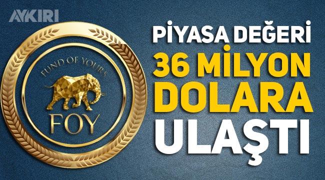 FOY'un piyasa değeri 36 milyon dolara ulaştı