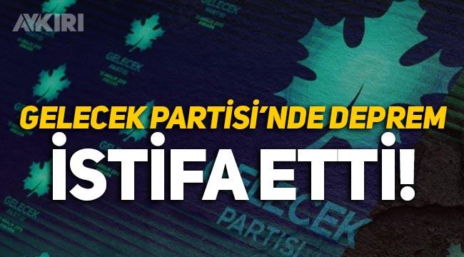 Gelecek Partisi'nde deprem! Genel Başkan Yardımcısı Neslihan Çevik istifa etti!