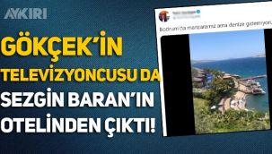 Gökçek'in televizyoncusu Tahir Sarıkaya da Sezgin Baran Korkmaz'ın otelinden çıktı!