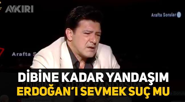 """Hakan Ural: """"Erdoğan'ı sevmek ayıp bir şey mi, dibine kadar yandaşım"""""""
