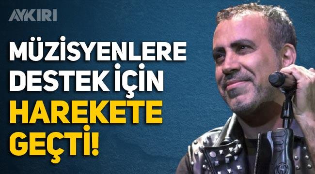Haluk Levent'ten normalleşme kararı çıkmayan müzisyenlere destek!