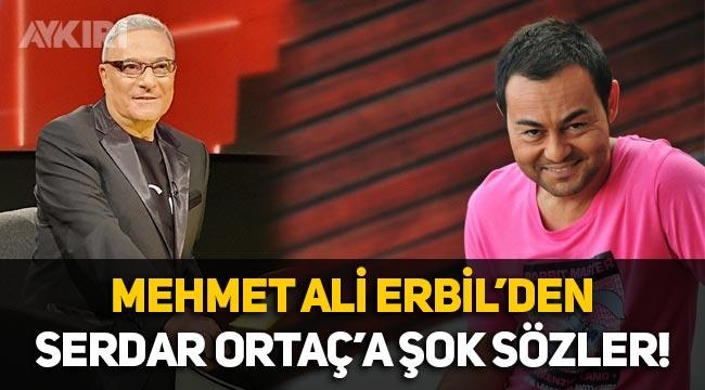 Mehmet Ali Erbil: Serdar Ortaç şarkıları kumarda kaybetti