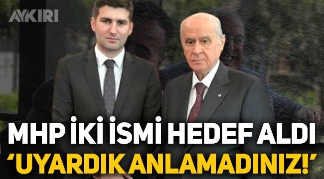 """MHP, Atila Kaya ve Suat Başaran'ı hedef aldı: """"Uyardık, anlamadınız!"""""""